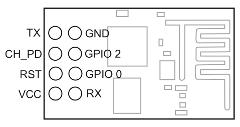 Распиновка ESP8266