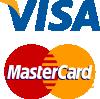 Принимаем Visa и MasterCard